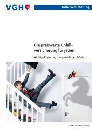 Unfallversicherung - VGH - Versicherung Göttingen, Eckart Welz, Kfz ...
