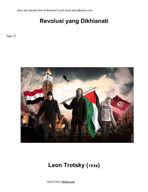 Revolusi Yang Dikhianati Leon Trotsky 1936