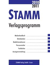 Die Zeitschriften der GEW - STAMM Verlag GmbH