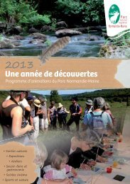 Guide animation Parc Normandie 2013 - La Mayenne