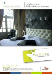 de l'hôtellerie en Mayenne 1