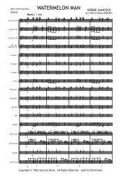 Watermelon Man (MB) Score Print.mus - Matrix Music