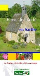 Adresses utiles  www.tourisme.sarthe.com www.congres-seminaires-sarthe.com