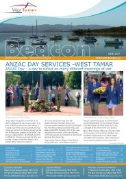 ANZAC DAY SERVICES -WEST TAMAR