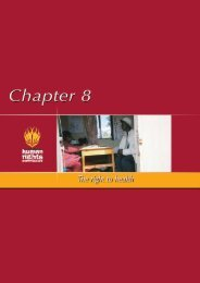 Chapter 8 - South African Human Rights Commission