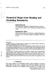 Numerical Shape from Shading and Occluding Boundaries