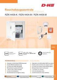 smoke vent control panel Rauchabzugszentrale - D+H Mechatronic