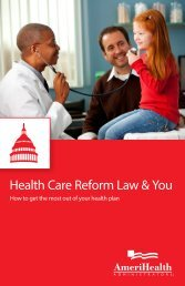 Health Care Reform Law & You