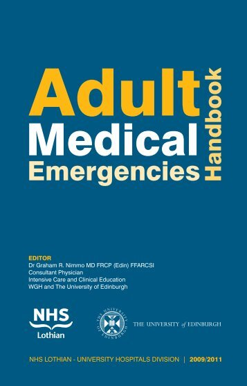 Adult Medical Emergency Handbook - Scottish Intensive Care Society