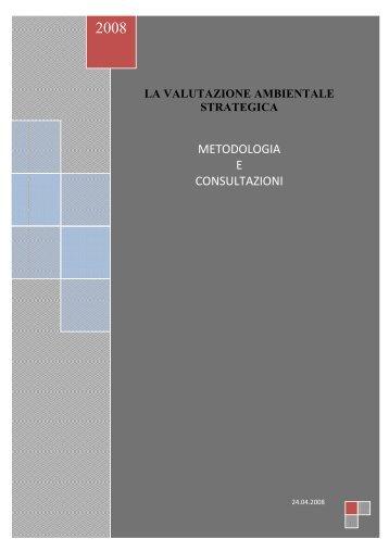 la valutazione ambientale strategica - Comune di Amalfi