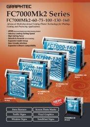 FC7000Mk2 Series - Graphtec Corporation
