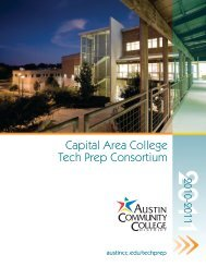 Capital Area College Tech Prep Consortium - Austin Community ...
