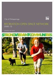 RECREATION OPEN SPACE NETWORK