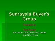 Sunraysia Buyer's Group