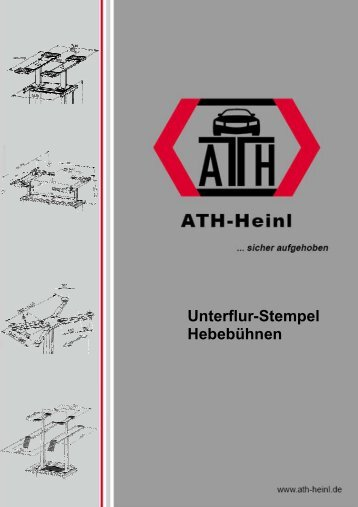 Katalog Unterflur-Stempel EH - Estpresto
