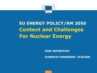 Context and Challenges For Nuclear Energy