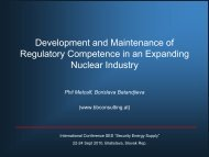 Regulatory Competence in an Expanding Nuclear Industry