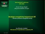 Stratégia energetickej bezpečnosti SR