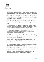 New look at our natural wonders - City of Onkaparinga