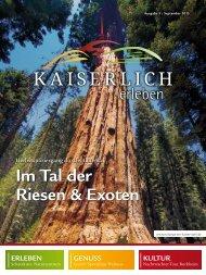 Kaiserlich erleben, Ausgabe 3/2015