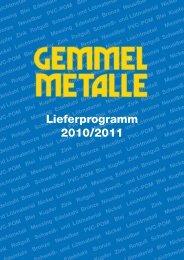 Aluminium - Gemmel Metalle