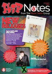 Hip Notes | August 2015