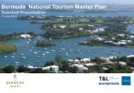 Bermuda National Tourism Master Plan