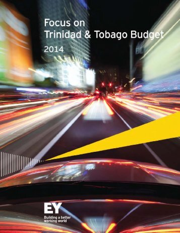 Trinidad and Tobago Budget 2014