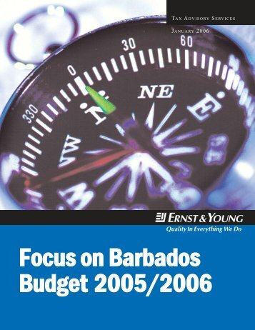 Focus on Barbados Budget 2005/2006