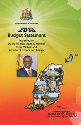 2013 Budget Statement - Government of Grenada