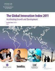 The Global Innovation Index 2011