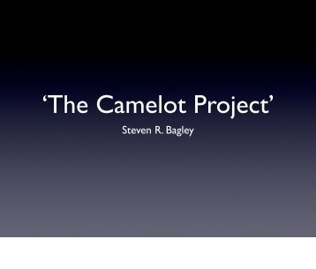 'The Camelot Project'