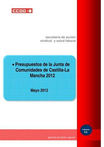 Comunidades de Castilla-La Mancha 2012