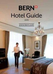 Bern Hotel Guide 2015