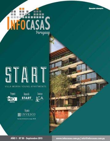 Revista InfoCasas Paraguay - Número 9 -Setiembre 2015