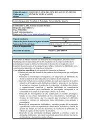 Análisis Funcional en contextos clínicos y de la Salud
