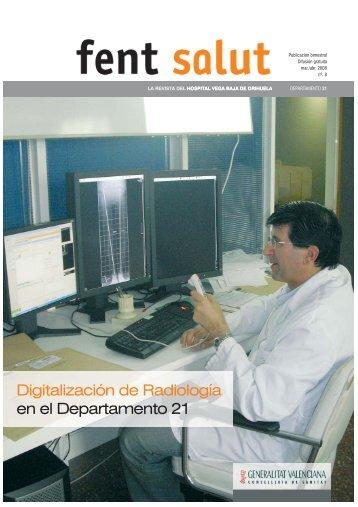 Digitalización de Radiología en el Departamento 21