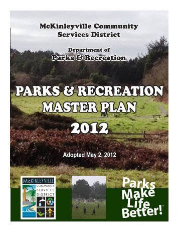 parks & recreation master plan - McKinleyville Community Services ...