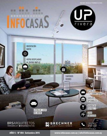 Revista InfoCasas - Número 54 - Setiembre 2015