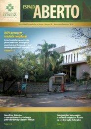 HCPA tem nova unidade hospitalar