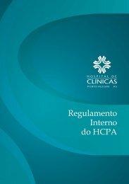 Regulamento Interno do HCPA