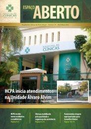 HCPA inicia atendimentos na Unidade Álvaro Alvim