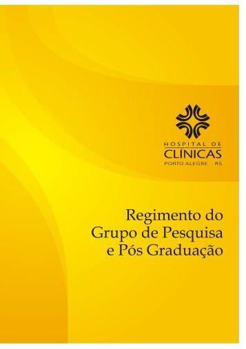 Grupo de Pesquisa e Pós Graduação