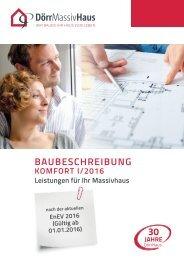 Baubeschreibung Dörr Haus 2015