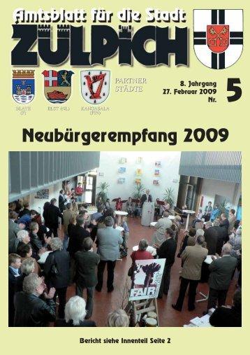 13,50 - Stadt Zülpich