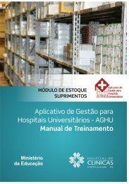 Módulo Estoque - Hospital de Clínicas de Porto Alegre - Ufrgs