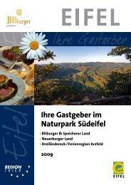 Ihre Gastgeber im Naturpark Südeifel - Tourist Information Bitburger ...