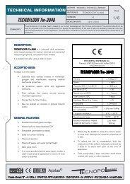 TECNOFLOOR Tw-3040