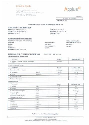 Consumer Goods - Tecnopol