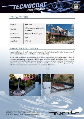 Tecnocoat P-2049-CASE-HOTELVIURA - Tecnopol